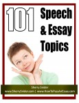 101 Speech &amp; Essay Topics