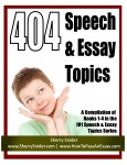 404 Speech &amp; Essay Topics