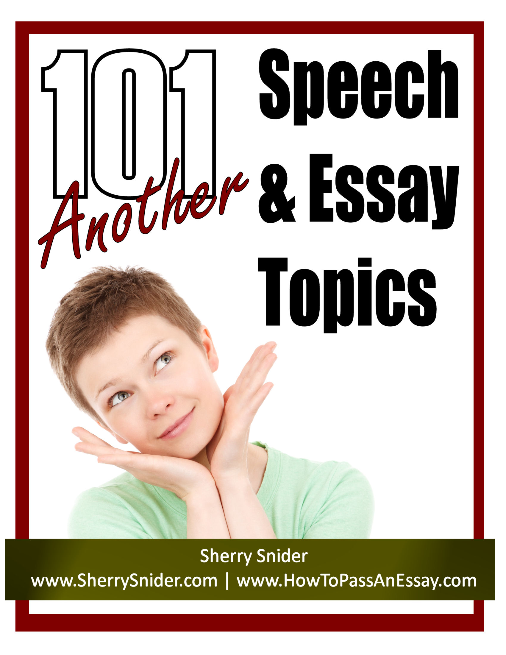english speech essay topics Interesting persuasive speech topics: a list for high school & college may 14, 2014 by jessicaheichel if you have been assigned a persuasive speech, lucky you.
